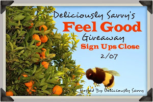 Deliciously Savvy's Feel Good Giveaway!