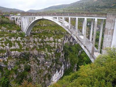 Ponte Chauliere-  Gorges du Verdon - França