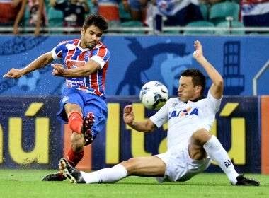 Bahia perde para o Atlético-PR e está muito próximo da Série B