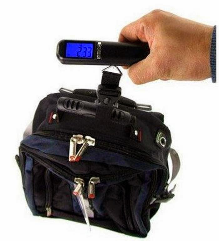 active and co digital luggage scale how to use