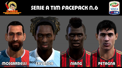 Serie A TIM Facepack by fampei89