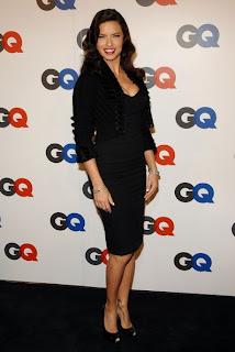 Adriana Lima New Fashion Hairstyles