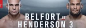 Vídeo da luta: Belfort x Dan Henderson