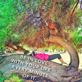 be in love with your life every minute of it, Jaime Messina