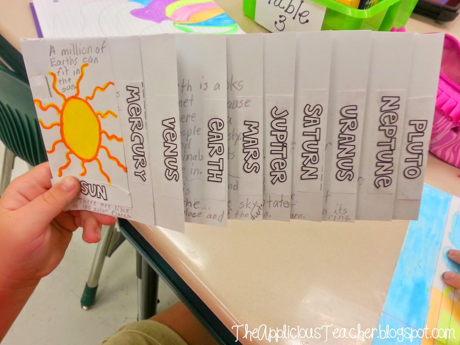 Solar System mini-step books