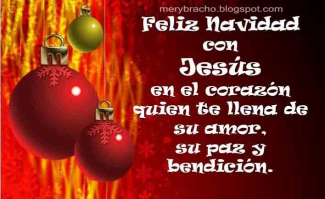 Postal cristiana feliz navidad entre poemas vivencias y - Frases cristianas para felicitar la navidad ...