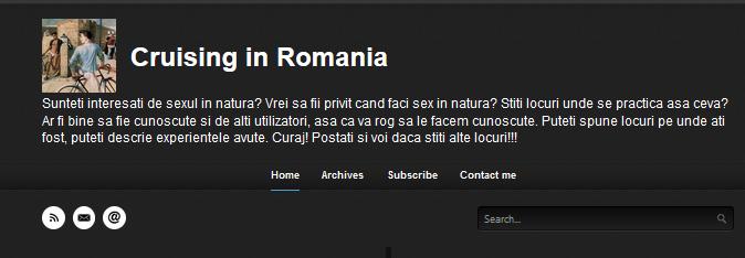 Crusing Romania