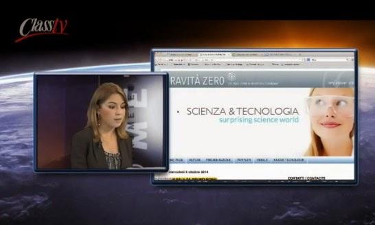 serena giacomin prometeo class tv gravità zero
