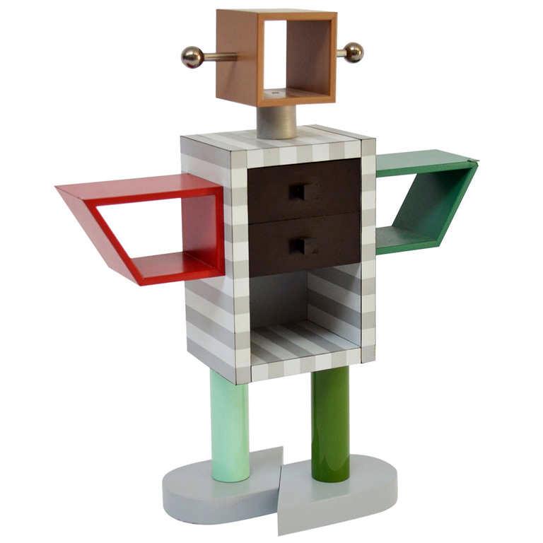 Ginza robot cabinet by Masanori Umeda (1983)