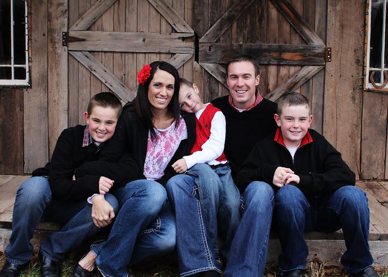Larsen Family 2012