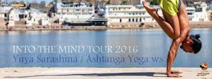 9月25日(日) Ashtanga Yoga WS/更科有哉先生