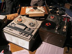 Big Tape Loops by choffee via Flickr and a Creative Commons license