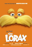 Dr. Seuss The Lorax Tops Box Office