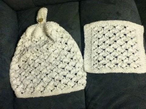 Luvsknitting: Bridal Shower Lace Kitchen Hanging Hand Towel and Matching Dish...