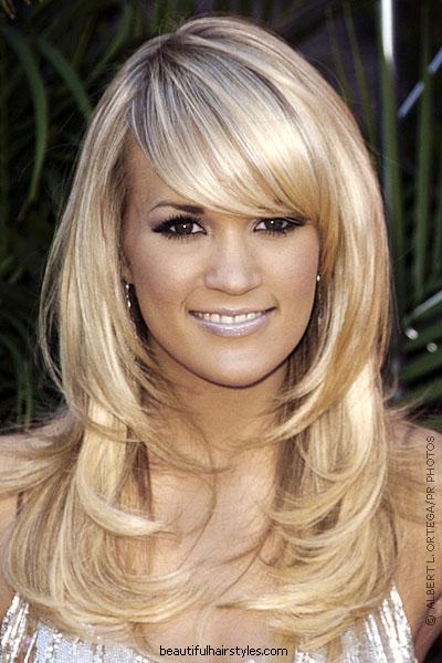 cute short layered hairstyles. layered bang hairstyles.