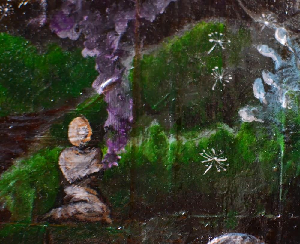 spore ceremony - art by amanda christine shelton