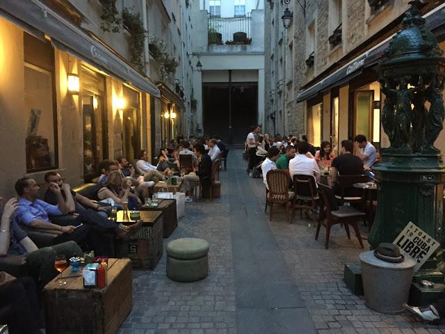 La Jeune Rue, cool bar, Volta, Rue du Vertbois