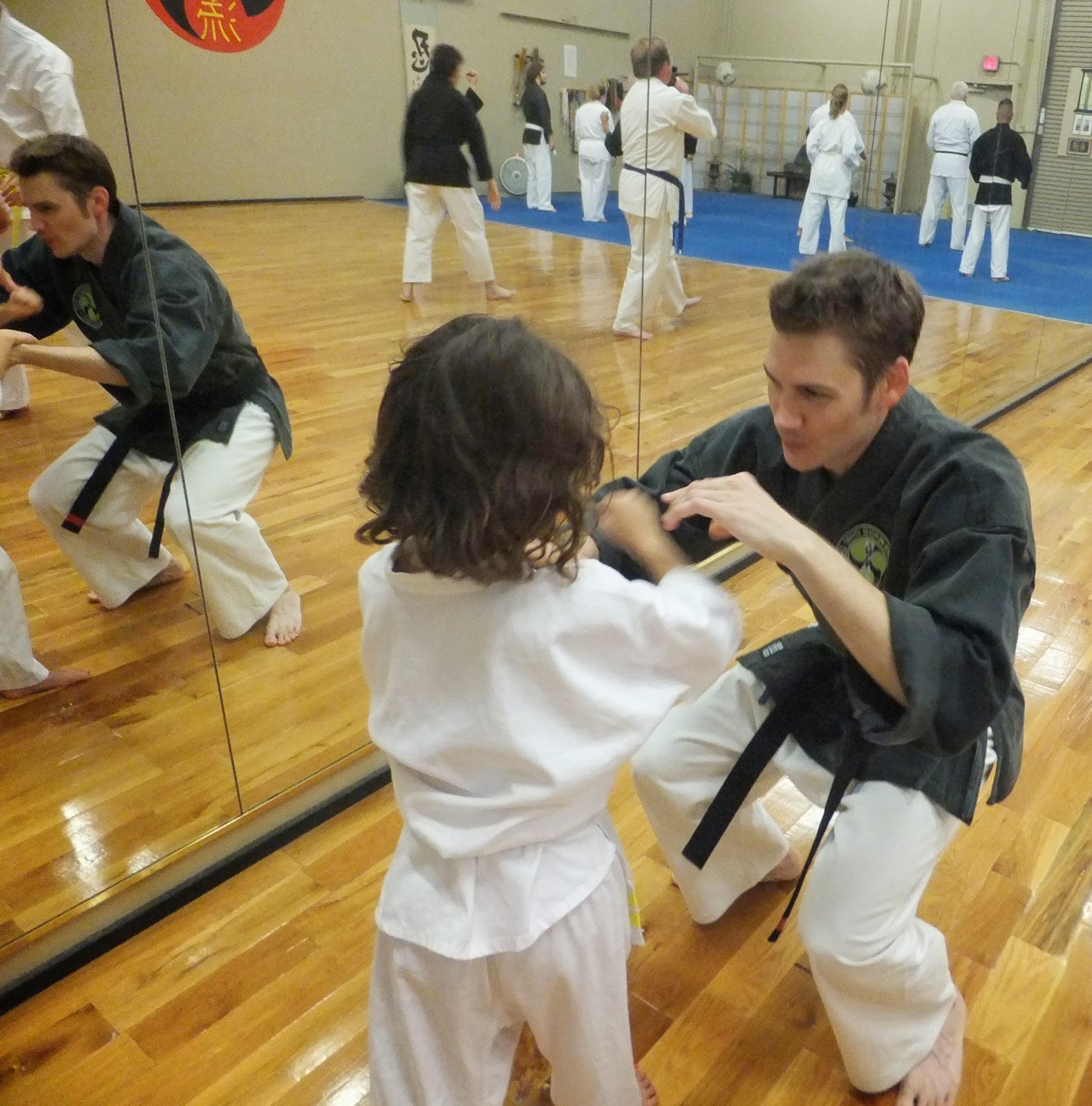 sensei harden 1st dan provides direction to one of our family members at the arizona school of traditional karate in mesa generally we do not teach martial arts instructor jobs