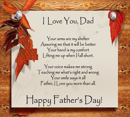 Father's Day 2015 Message sms