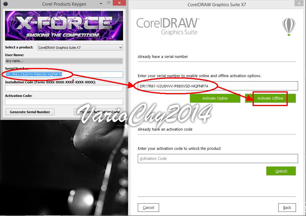 descargar xforce keygen 64 bits corel 2017