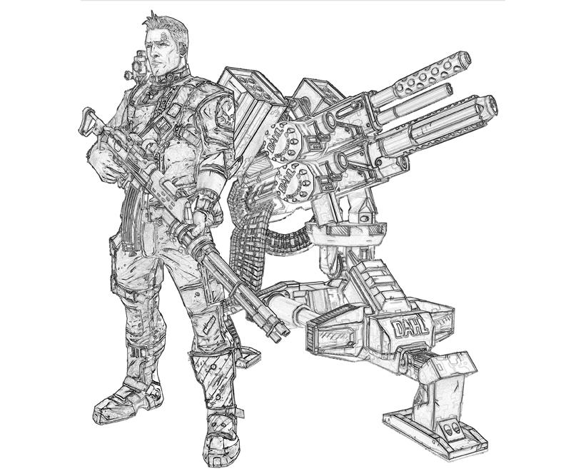 printable-borderlands-2-axton-commando_coloring-pages
