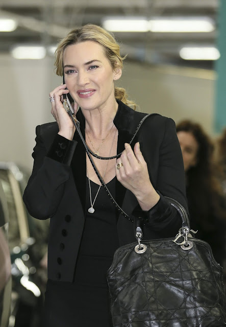 Actress, Singer @ Kate Winslet leaving the ITV studios following a guest appearance on 'Lorraine'