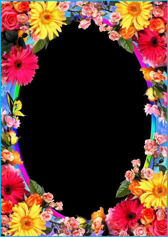 Bordes o marcos de flores - Imagui