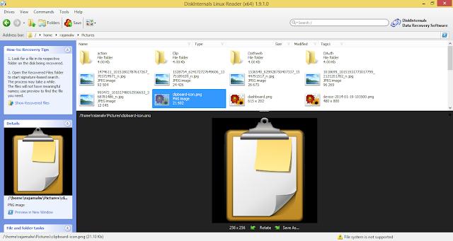 Acceder a los ficheros y carpetas de Linux desde Windows con Linux Reader