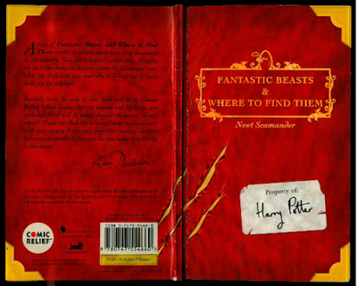 "Cover buku ""Fantastic Beasts & Where To Find Them"" versi Bahasa Indonesia"
