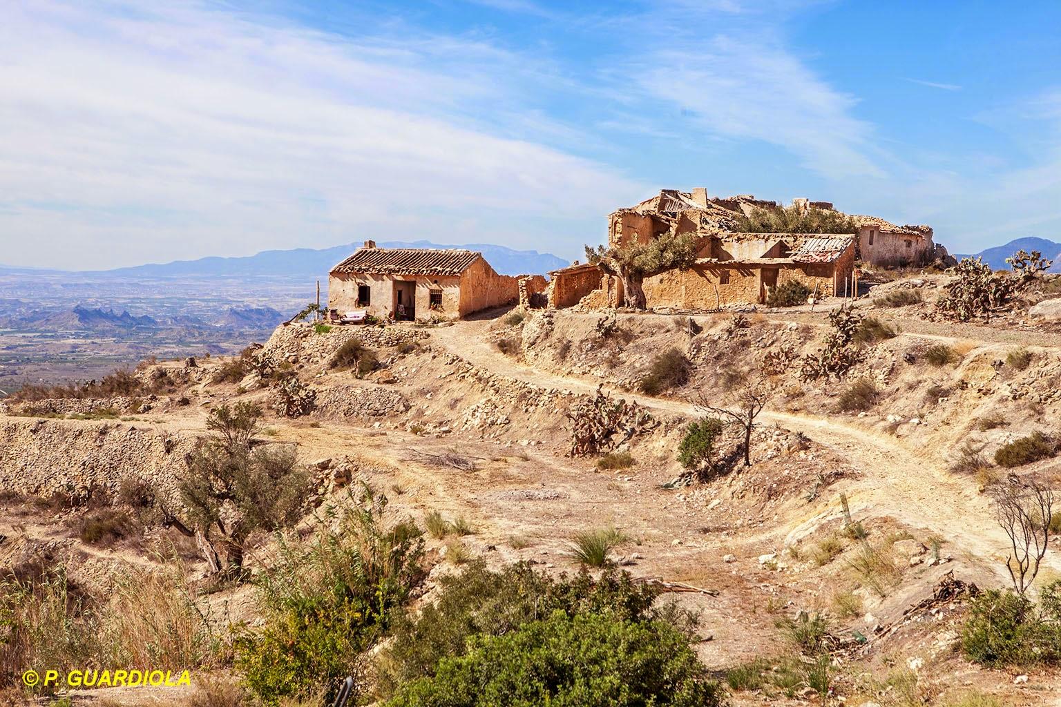 Pueblos abandonados en la Región de Murcia