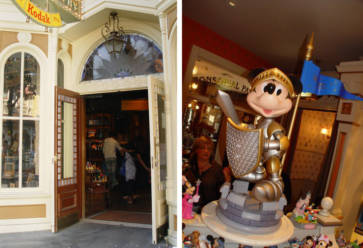 Disneyland Paris Park - Main Street and Fantasyland 2