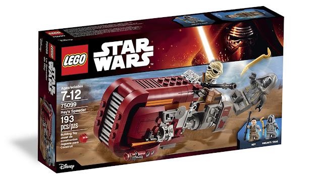 star wars vii lego rey's speeder