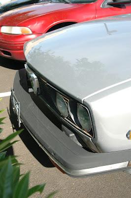 1979 Alfa Romeo Alfetta Sport Sedan headlights.