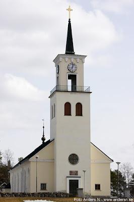 Töre kyrka, kyrkan i Så ock på jorden