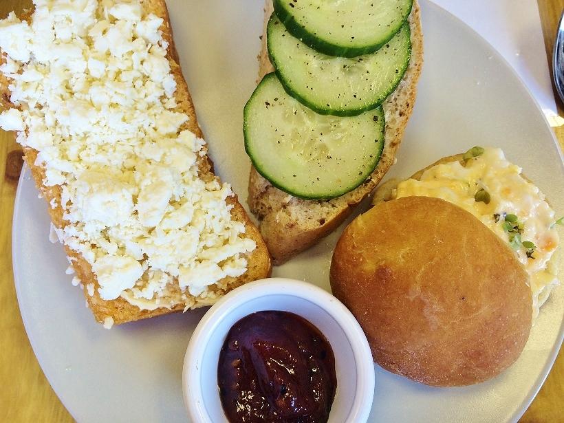 L'Eclair Patisserie sandwiches