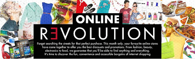 online revolution, zalora, lazada, a-deals, adeals, cyber monday, online shopping, e-commerce