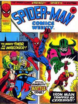 Spider-Man Comics Weekly #149, Thor and Iron Man