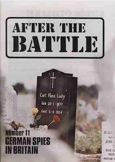 After the Battle magazine, volume 11 - German Spies in Britain