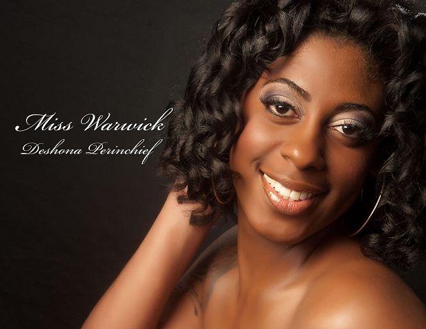 Miss Bermuda 2012 Warwick Deshona Perinchief