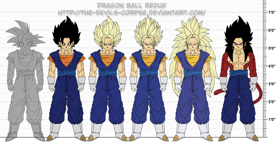 dragon ball z vegito n...