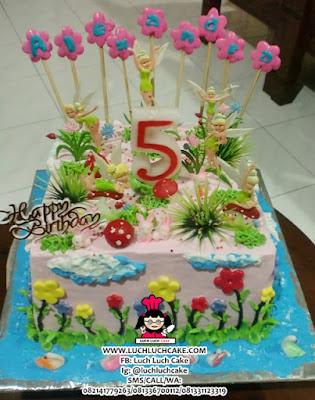 Tinkerbell Birthday Cake Daerah Surabaya - Sidoarjo