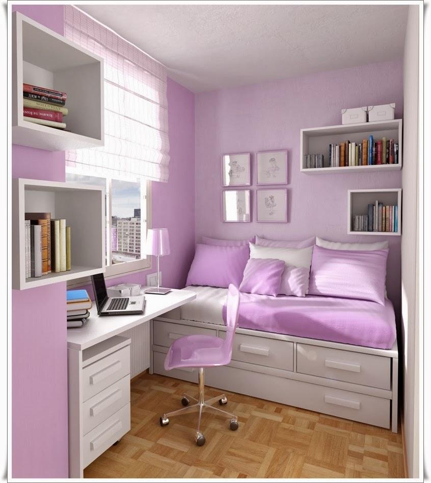 kamar tidur anak perempuan sempit   sobat interior rumah