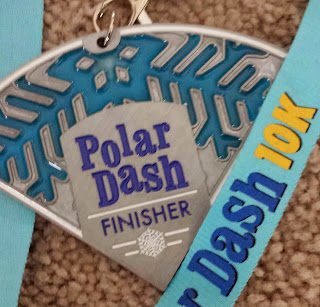 Polar Dash 10k FINISHER