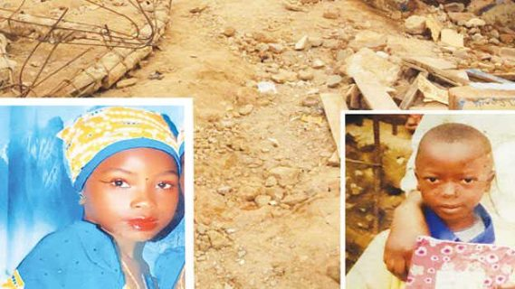 Two fathers recount how their children were killed in Collapsed Jos school building.