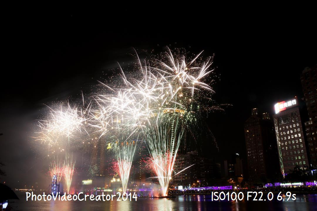 2015 2/21 2015高雄燈會藝術節 開幕 21:00 愛河煙火秀