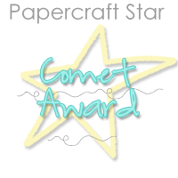 Comet Award at Papercraft Star
