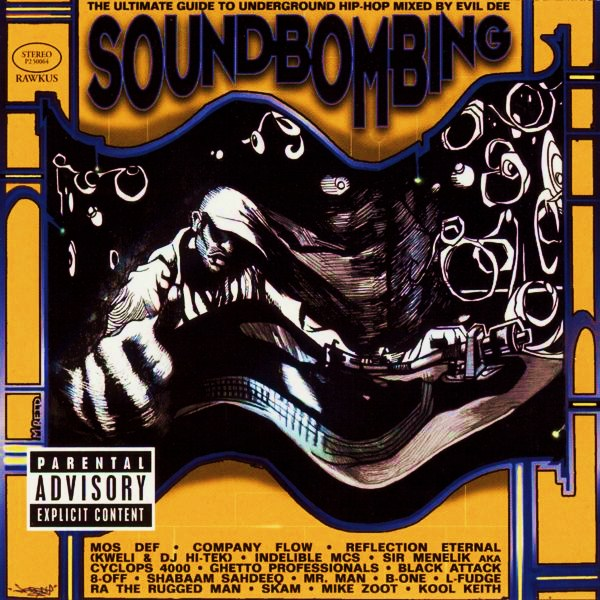 VA ‎– Soundbombing (CD) (1997) (FLAC + 320 kbps)