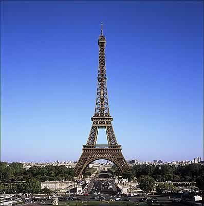 Paris Eiffel Tower Picture on Eiffel Tower Is The Tallest Structure In The World The Eiffel Tower Is
