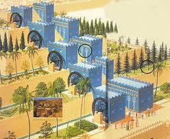 7 maravillas del mundo jardines for Jardines colgantes babilonia