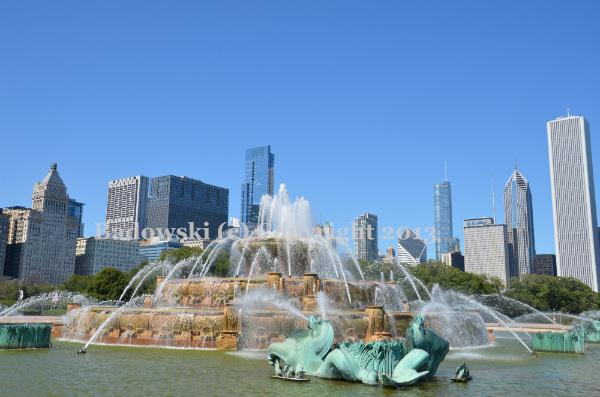 clarence buckingham memorial fountain